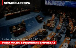 Senado Aprova Linha De Crédito De R$190 Bi Para Micro E Pequenas Empresas - Serviços Contábeis em Campinas | Aurora Contabilidade