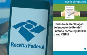 Omissao De Declaracao De Imposto De Renda Entenda Como Regularizar O Seu Cnpj - Serviços Contábeis em Campinas | Aurora Contabilidade